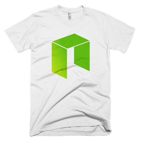 Cryptocurrency NEO Men's Short-Sleeve T-Shirt | HODL On For Dear Life