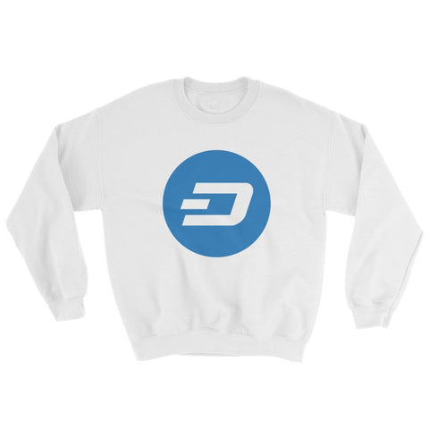 Cryptocurrency Dash Crew Neck Sweater | HODL On For Dear Life