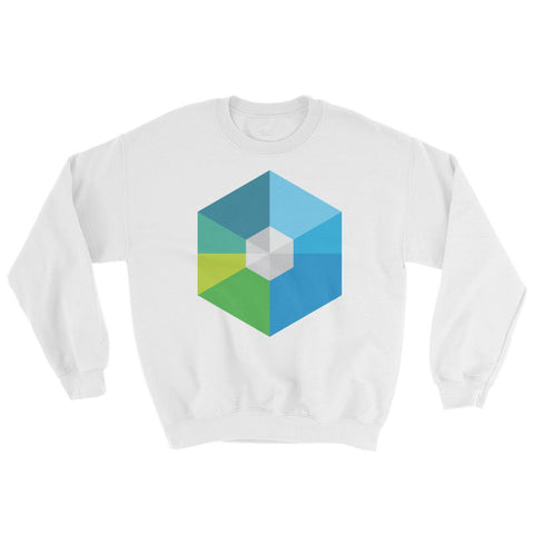 Cryptocurrency RaiBlocks Crew Neck Sweater | HODL On For Dear Life