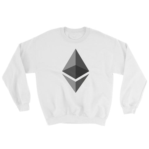 Cryptocurrency Ethereum Crew Neck Sweater | HODL On For Dear Life