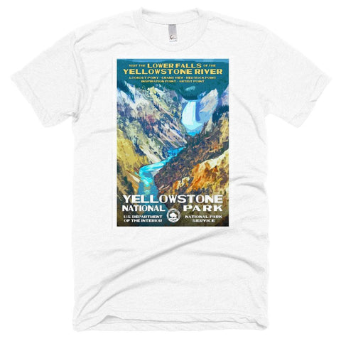Yellowstone National Park Poster Unisex T-shirt