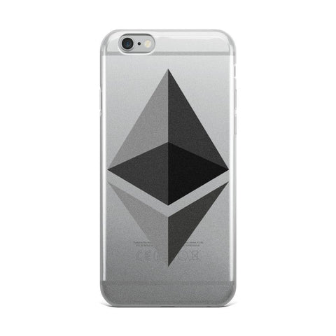 Cryptocurrency Ethereum iPhone Case | HODL On For Dear Life
