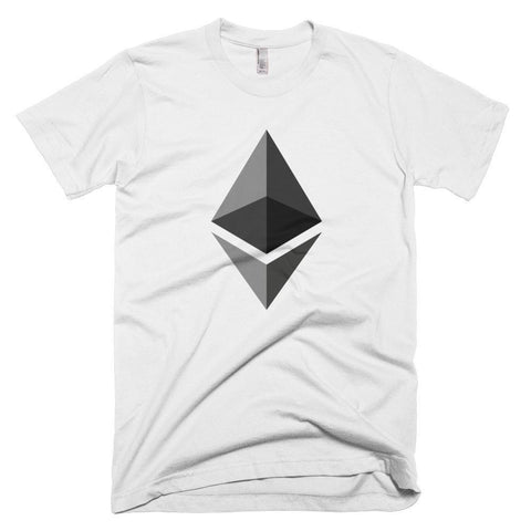 Cryptocurrency Men's Short-Sleeve Ethereum T-Shirt | HODL On For Dear Life