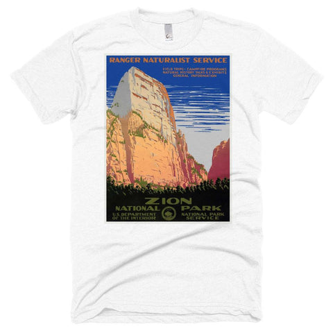 Zion National Park Poster Unisex Tshirt