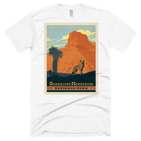 Guadalupe Mountains National Park Poster Unisex Tshirt