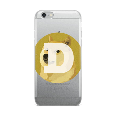 Cryptocurrency Dogecoin iPhone Case | HODL On For Dear Life