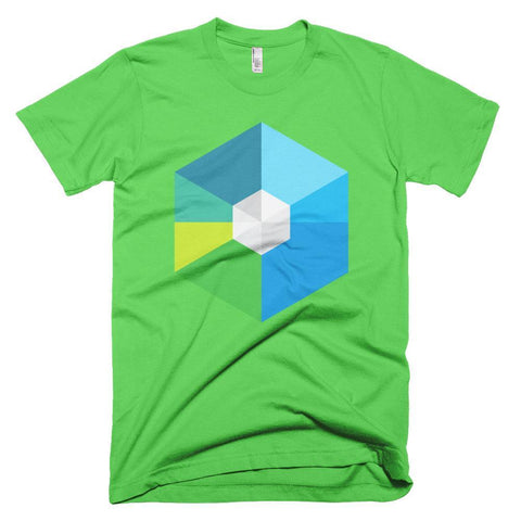 Cryptocurrency RaiBlocks Men's Short-Sleeve T-Shirt | HODL On For Dear Life