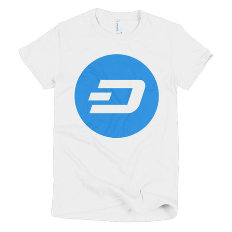 Cryptocurrency Women's Short Sleeve Dash T-Shirt | HODL On For Dear Life