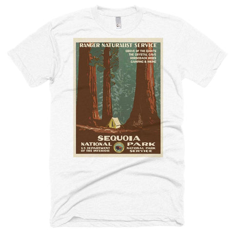Sequoia National Park Poster Unisex Tshirt