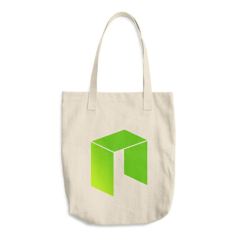 Cryptocurrency NEO Cotton Tote Bag | HODL On For Dear Life