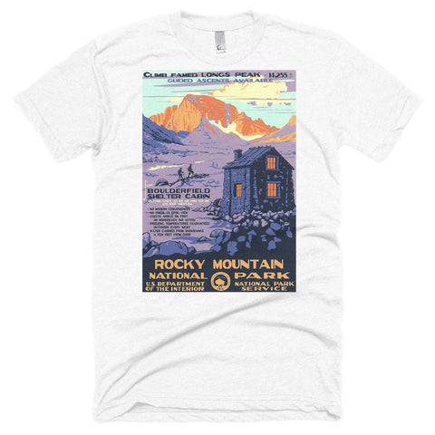 Rocky Mountain National Park Poster Unisex Tshirt