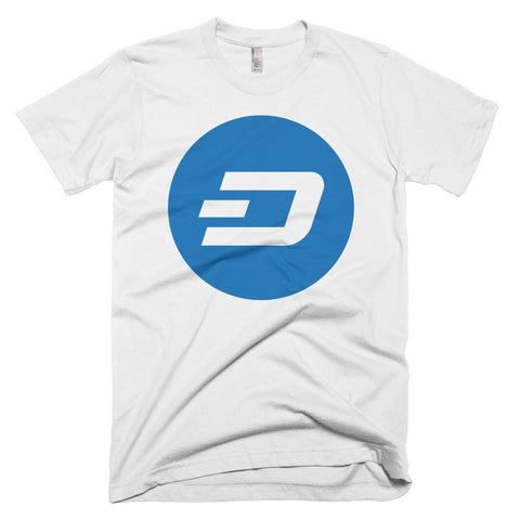 Cryptocurrency Men's Short-Sleeve Dash T-Shirt | HODL On For Dear Life