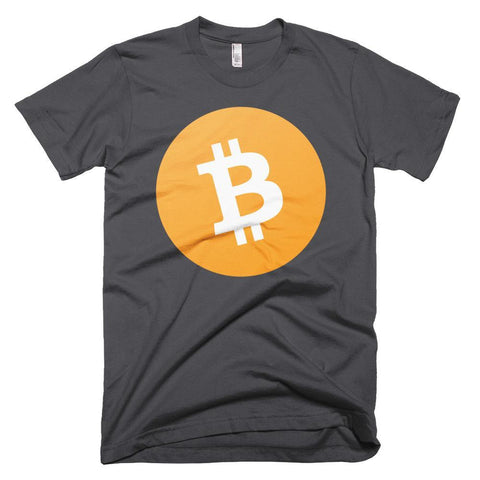 Cryptocurrency Men's Short-Sleeve Bitcoin Cash T-Shirt | HODL On For Dear Life