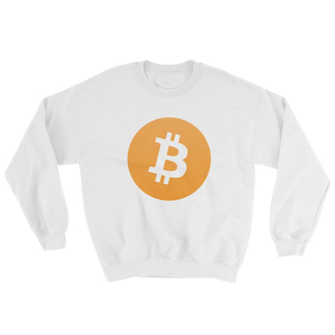 Cryptocurrency Bitcoin Crew Neck Sweater | HODL On For Dear Life