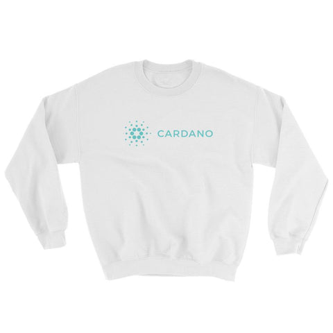 Cryptocurrency Cardano Crew Neck Sweater | HODL On For Dear Life