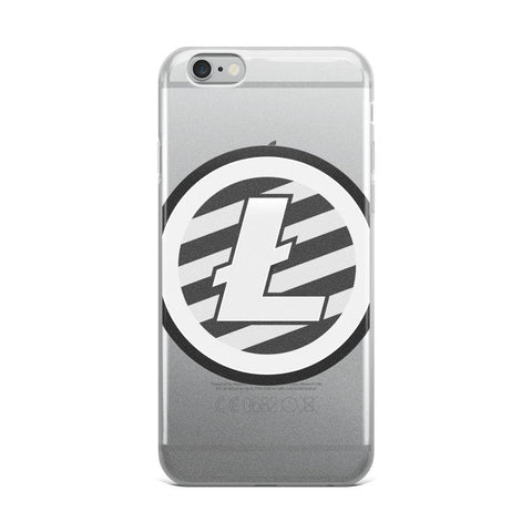 Cryptocurrency Litecoin iPhone Case | HODL On For Dear Life