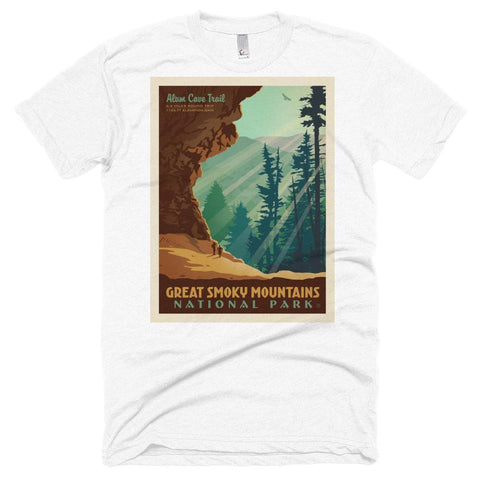 Great Smoky Mountains National Park Poster Unisex Tshirt