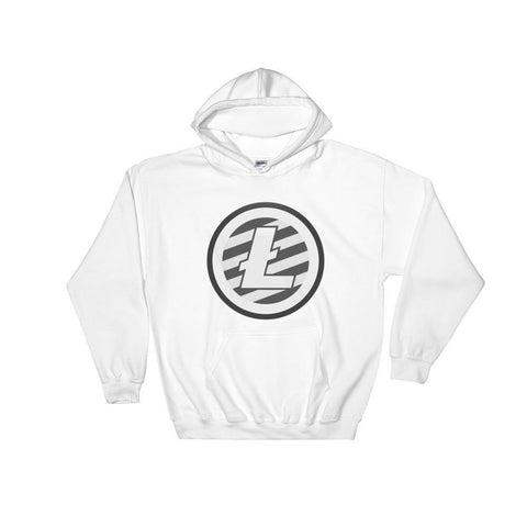 Cryptocurrency Litecoin Hoodie Sweatshirt | HODL On For Dear Life