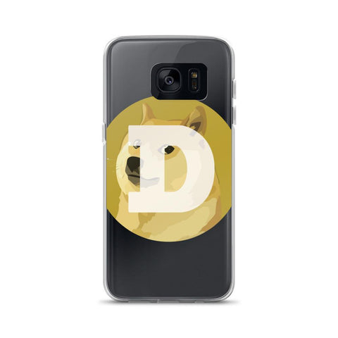 Cryptocurrency Dogecoin Samsung Case | HODL On For Dear Life