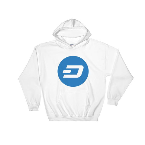 Cryptocurrency Dash Hoodie Sweatshirt | HODL On For Dear Life