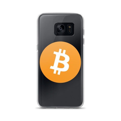 Cryptocurrency Bitcoin Samsung Case | HODL On For Dear Life