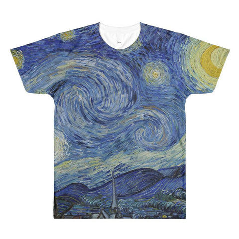 Starry Night Men's T Shirt