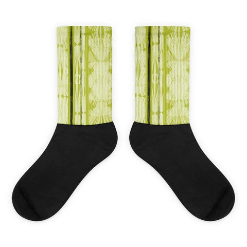Palm Stripe Socks