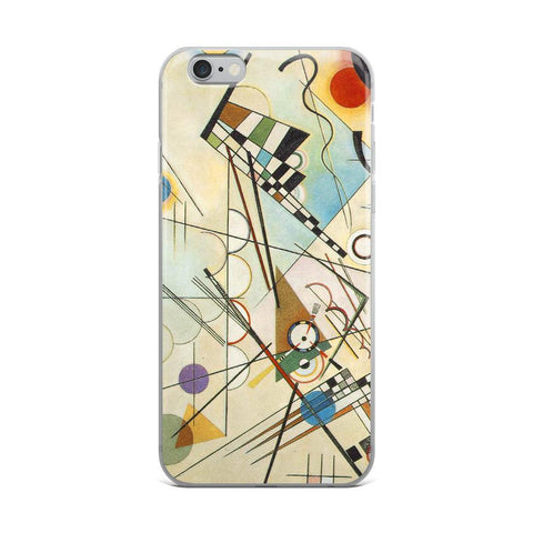Composition 8 iPhone Case