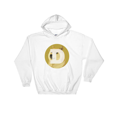 Cryptocurrency Dogecoin Hoodie Sweatshirt | HODL On For Dear Life