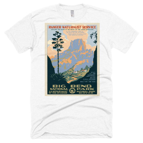 Big Bend National Park Poster Unisex Tshirt