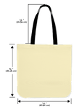 Embossed Architectural Panel Canvas Tote