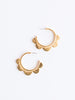 Susan Shaw Scallop Hoop Earrings