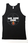 ONE FIRE CLOTHING - WE ARE ONE FADED TANK - One Fire Movement- Inspirational Tanks - Positive Message Tanks