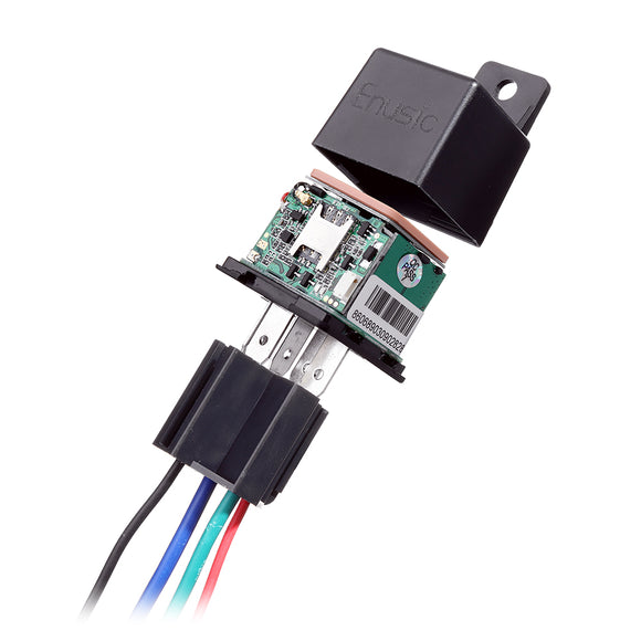 CJ720 GLOBAL VERSION RELAY GPS TRACKER REAR TIME GSM LOCATOR ANTI-THEFT CUT OFF FUEL POWER SYSTEM FUNCTION