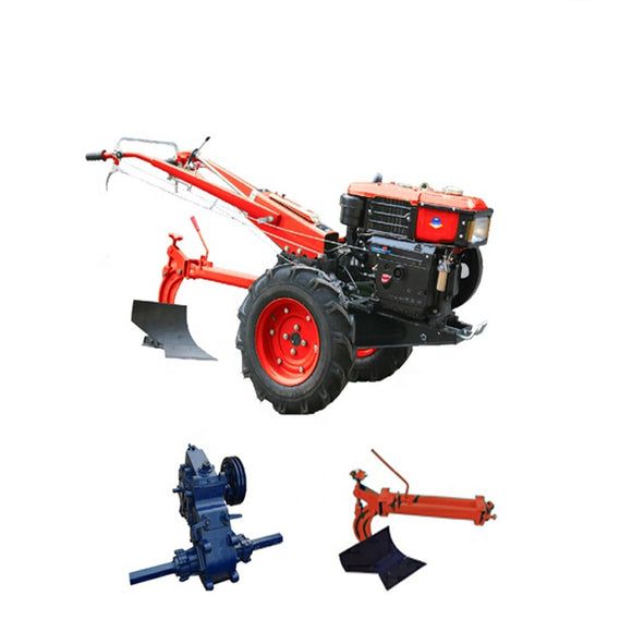 red electric start walking tractor for sale