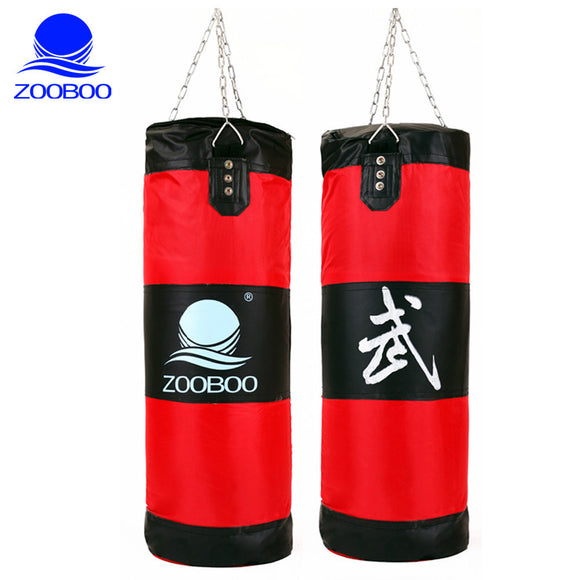 Heavy Duty Large Boxing Punching Bag - 100cm (Red)