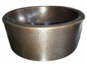 Hand Hammered Copper Handbasin
