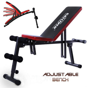 Multifunctional Flat / Incline / Decline Adjustable Fid Exercise Bench
