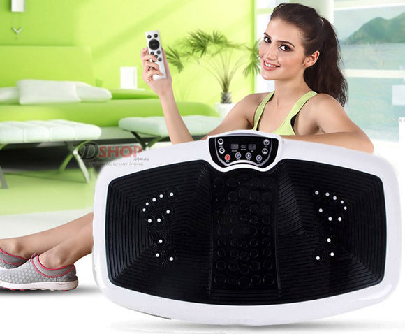 XL Full Body Shaper Vibration Machine Platform Bio-Magnetic Plate