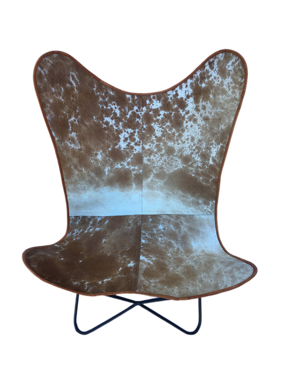 Stunning Butterfly Chair Hide Leather Chair