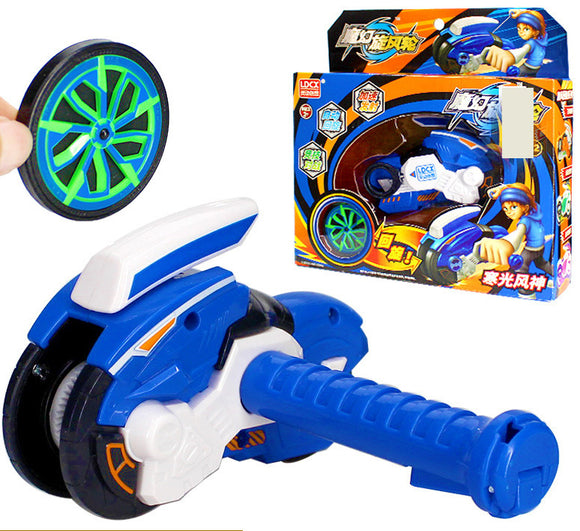 Spinner Wheel Burst Toy (Blue)