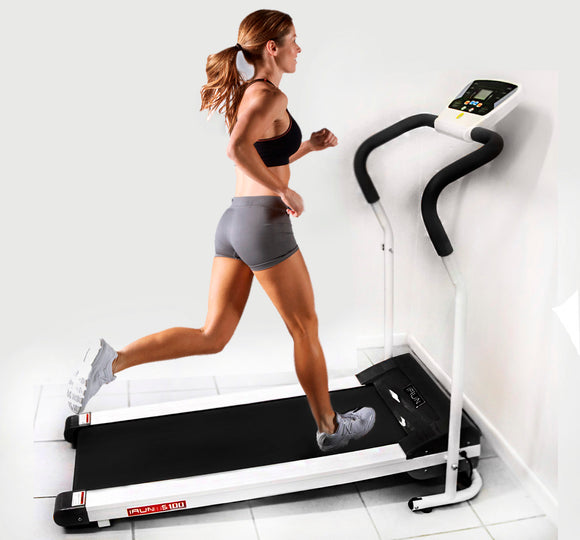 IRUN Fitness Trainer Treadmill (Black)