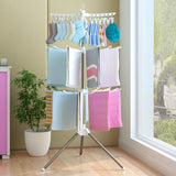 360 Degree Swivel Clothes Towel Airer Hanger Drying Rack