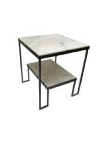 Marble-Grained Tabletop Artemis Coffee Table