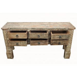 SIX DRAWER CONSOLE -VK0065