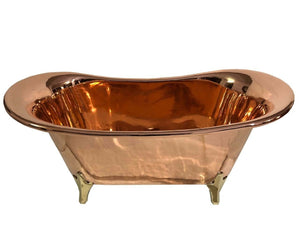 Copper Bathtub Antique. Free Standing   OUT OF STOCK.  PREORDER