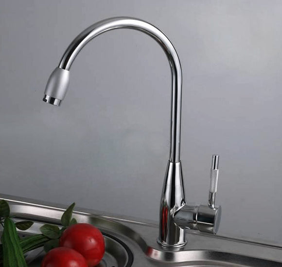 Solid Brass Minimalist Sink Mixer Bathroom Kitchen Tap