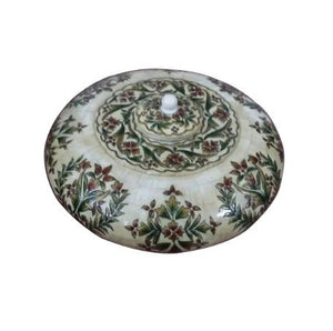 BONE INLAY ROUND CONTAINER