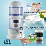 7 Stage Filtration Water Filter & 2 Bonus Extra Filters A