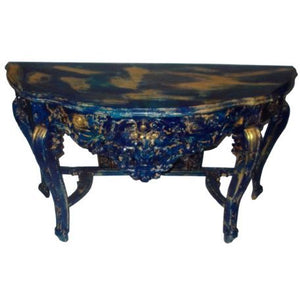 BLUE COLOUR CARVING CONSOLES